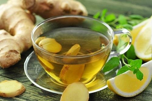 gember citroen thee maken